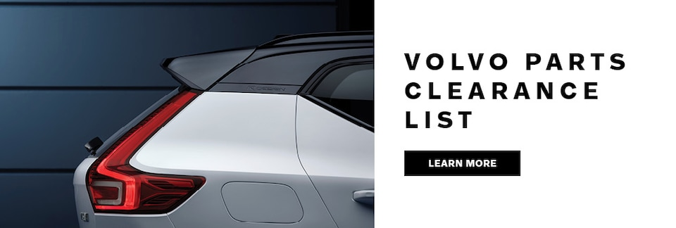Volvo Parts Clearance Event