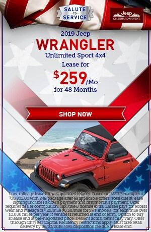 New 2019 Jeep Wrangler - May