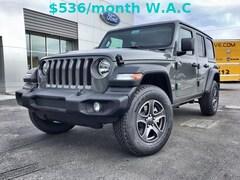 2018 Jeep Wrangler UNLIMITED SPORT S 4X4 Sport Utility 1C4HJXDNXJW331696