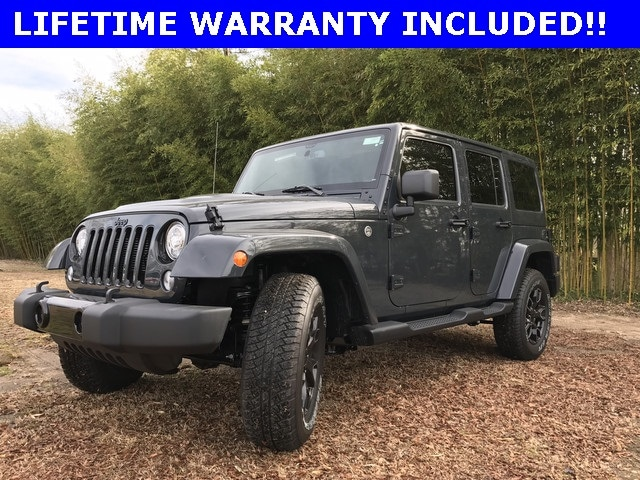 New 2018 Jeep Wrangler Unlimited Wrangler Jk Unlimited Altitude 4x4