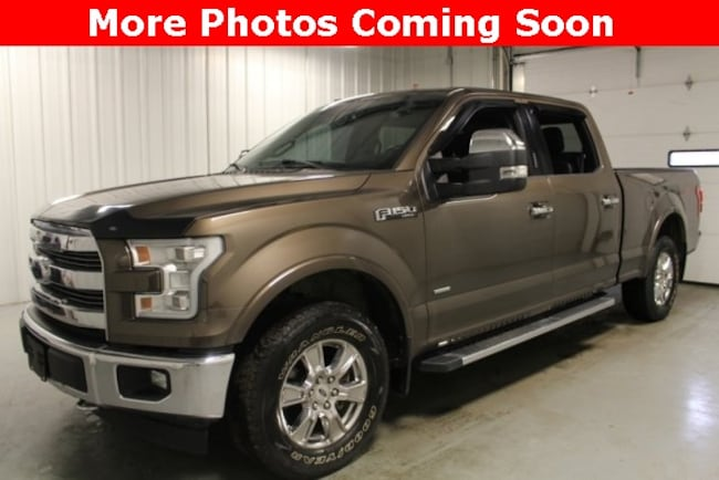 Used 2017 Ford F-150 Lariat Truck For Sale Hicksville, OH
