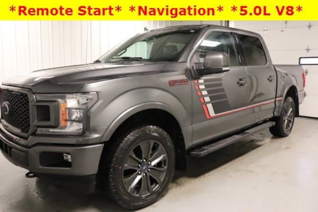 Used 2018 Ford F-150 Lariat Truck For Sale Hicksville, OH