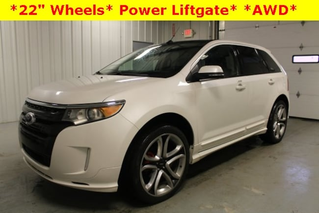 Used 2014 Ford Edge Sport SUV For Sale Hicksville, OH