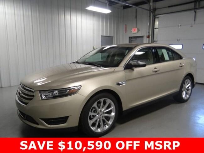 New 2018 Ford Taurus Limited Sedan For Sale/Lease Hicksville Ohio