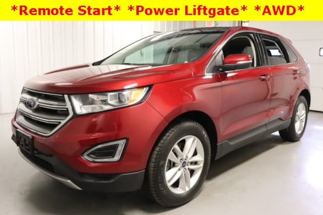 Used 2016 Ford Edge SEL SUV For Sale Hicksville, OH