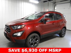 New 2018 Ford EcoSport SUV Hicksville Ohio