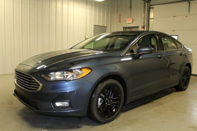 New 2019 Ford Fusion Hicksville Ohio Stock Fc19010