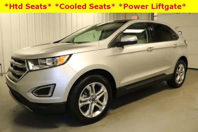 Used 2018 Ford Edge Titanium SUV For Sale Hicksville, OH