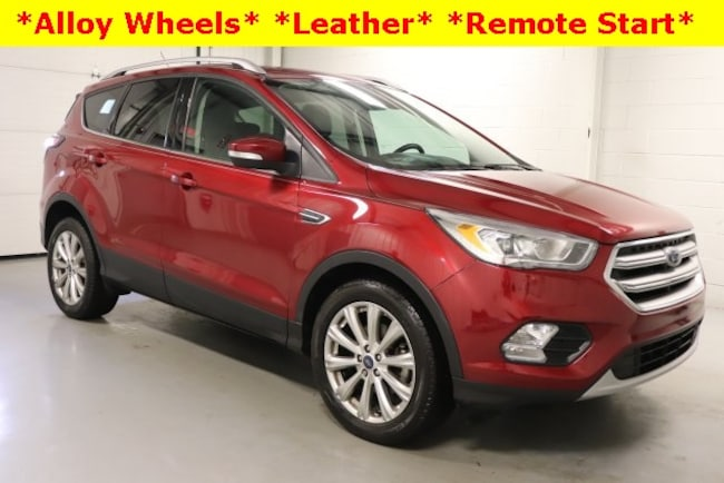 Cars That Start With J >> Used 2017 Ford Escape For Sale Hicksville Oh Stock R18269