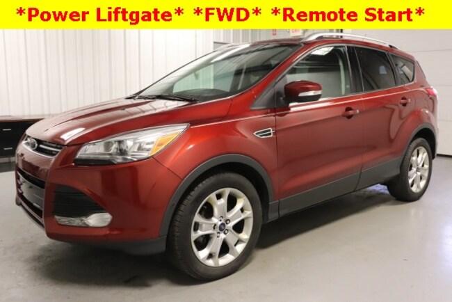 Used 2016 Ford Escape Titanium SUV For Sale Hicksville, OH