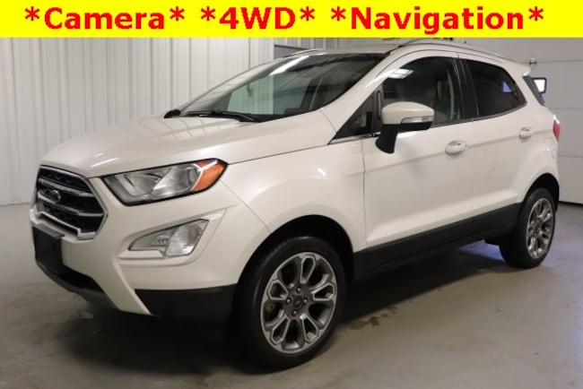 Used 2018 Ford EcoSport Titanium SUV For Sale Hicksville, OH