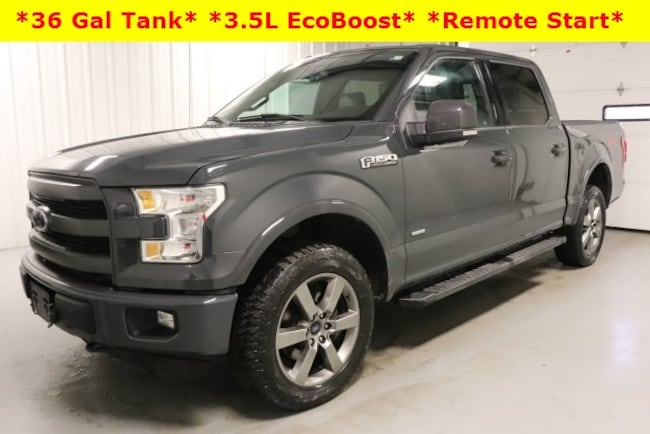 Used 2016 Ford F-150 Lariat Truck For Sale Hicksville, OH