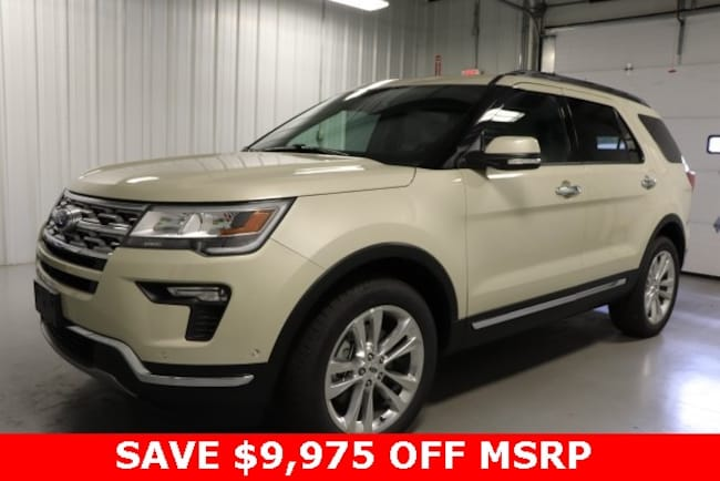 New 2018 Ford Explorer Limited SUV For Sale/Lease Hicksville Ohio