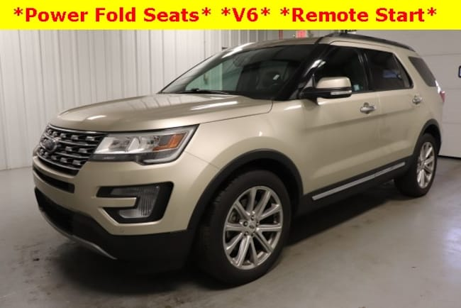 Used 2017 Ford Explorer Limited SUV For Sale Hicksville, OH