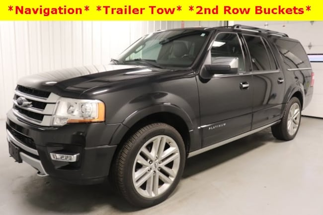Used 2015 Ford Expedition EL Platinum SUV For Sale Hicksville, OH