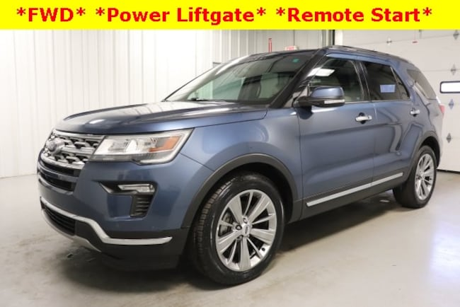 Used 2018 Ford Explorer Limited SUV For Sale Hicksville, OH