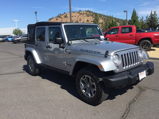 New 2017 Jeep Wrangler JK UNLIMITED RUBICON 4X4 Sport Utility Bend OR