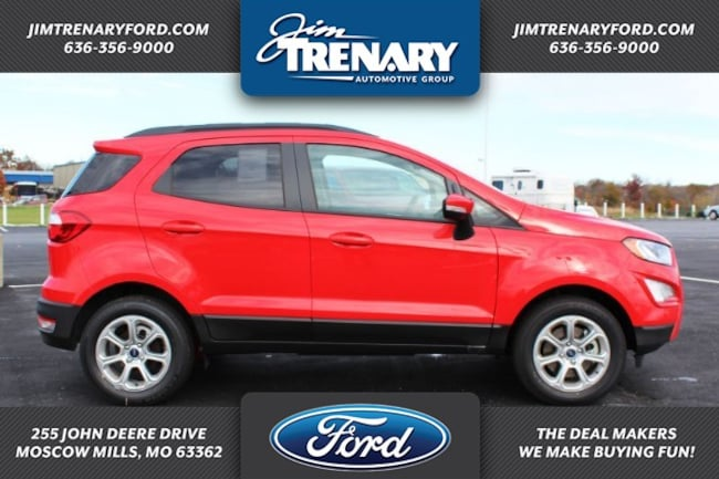 New 2018 Ford EcoSport SE Crossover Moscow Mills