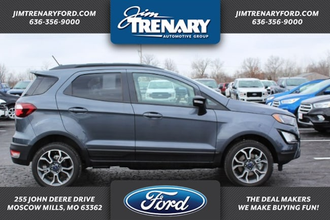 New 2019 Ford EcoSport SES Crossover Moscow Mills