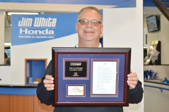 Maumee, Ohio April 23, 2015   American Honda Motor Co., Inc, Recently  Honored Sales Consultant Bob White, At Jim White In Maumee, Ohio, ...