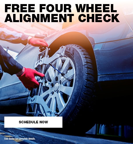 Free Four Wheel Alignment Check