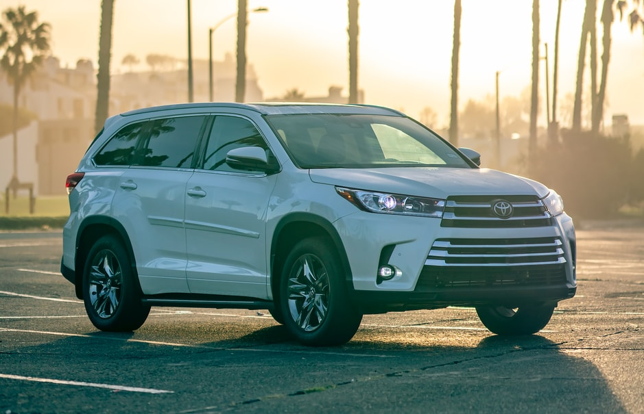 New Toyota Highlander in Perrysburg