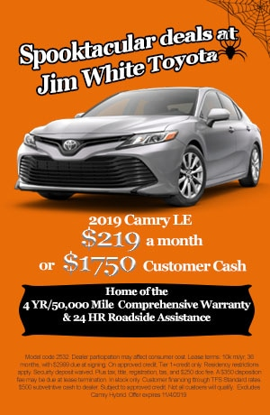 Camry Leasing Special