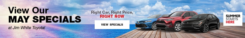 May 2019 Toyota Monthly Specials