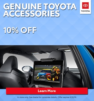 Genuine Toyota Accesstories