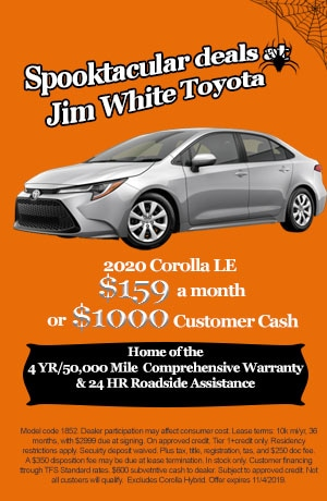 Corolla Leasing Special