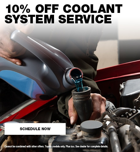 10% Off Coolant System Service