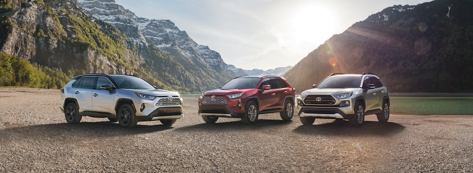 New Toyota SUV Inventory
