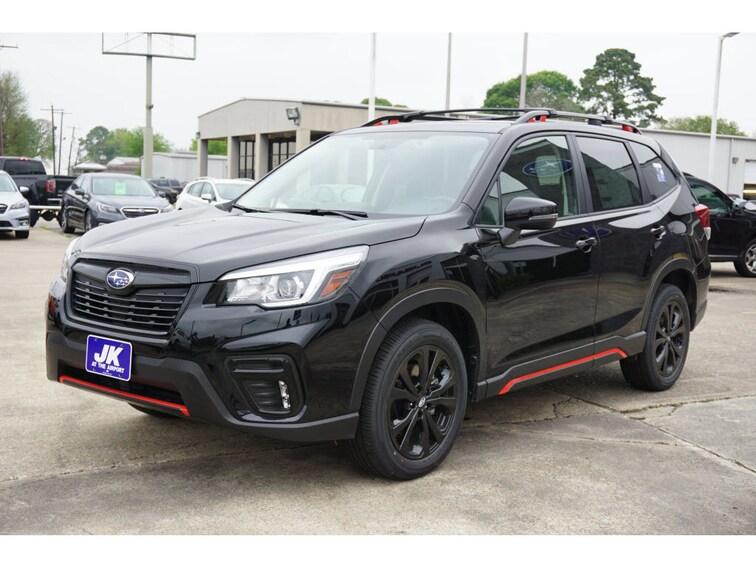 New 2019 Subaru Forester Sport SUV For Sale Nederland, TX