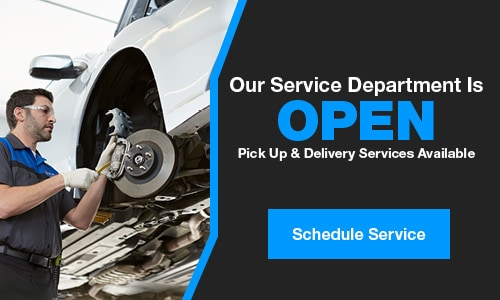 Service & Parts Remains Open