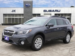 New 2018 Subaru Outback 2.5i Premium with EyeSight, Blind Spot Detection, Rear Cross Traffic Alert, Power Rear Gate, High Beam Assist, Moonroof, Navigation, and Starlink SUV For Sale in Nederland, TX
