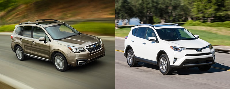 Compare The Subaru Forester Vs Toyota RAV4 For Your Nederland Excursions