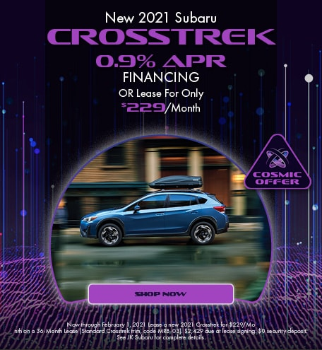January - 2021 Crosstrek