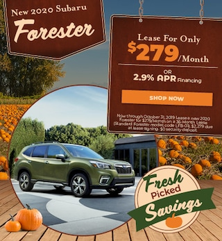 New 2020 Subaru Forester - October Special