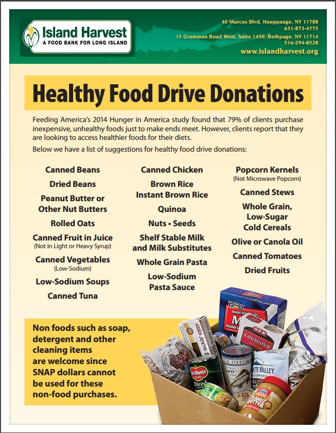 New York Cares Coat Drive And Island Harvest Food Drive