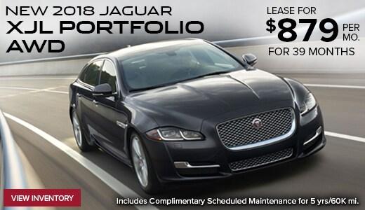 Lease A New 2018 Jaguar XJL Portfolio AWD For $879 Per Month!