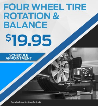 Four Wheel Tire & Rotation Balance