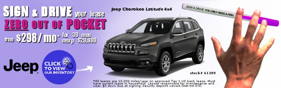 Sign And Drive Lease Deals >> Joe Cecconi S Chrysler Complex New Chrysler Dodge Jeep Ram