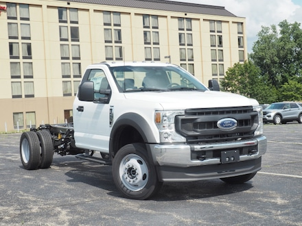2021 Ford F-450 Super Duty XL 4x4 Chassis Cab DRW