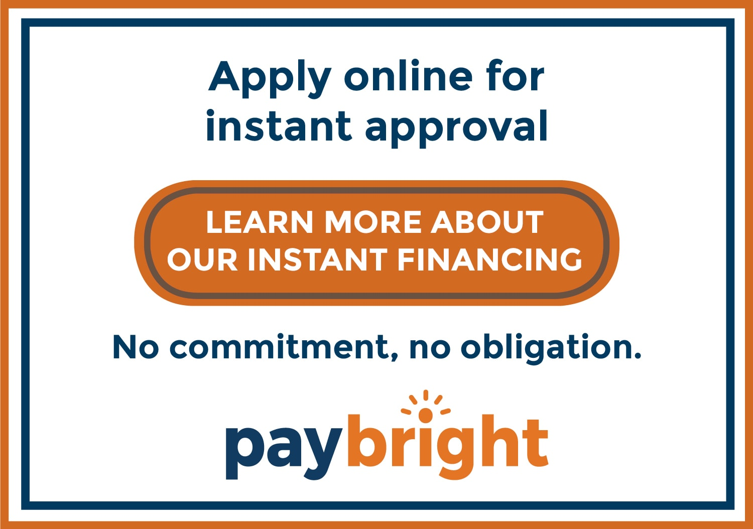 Apply for financing for future service repairs