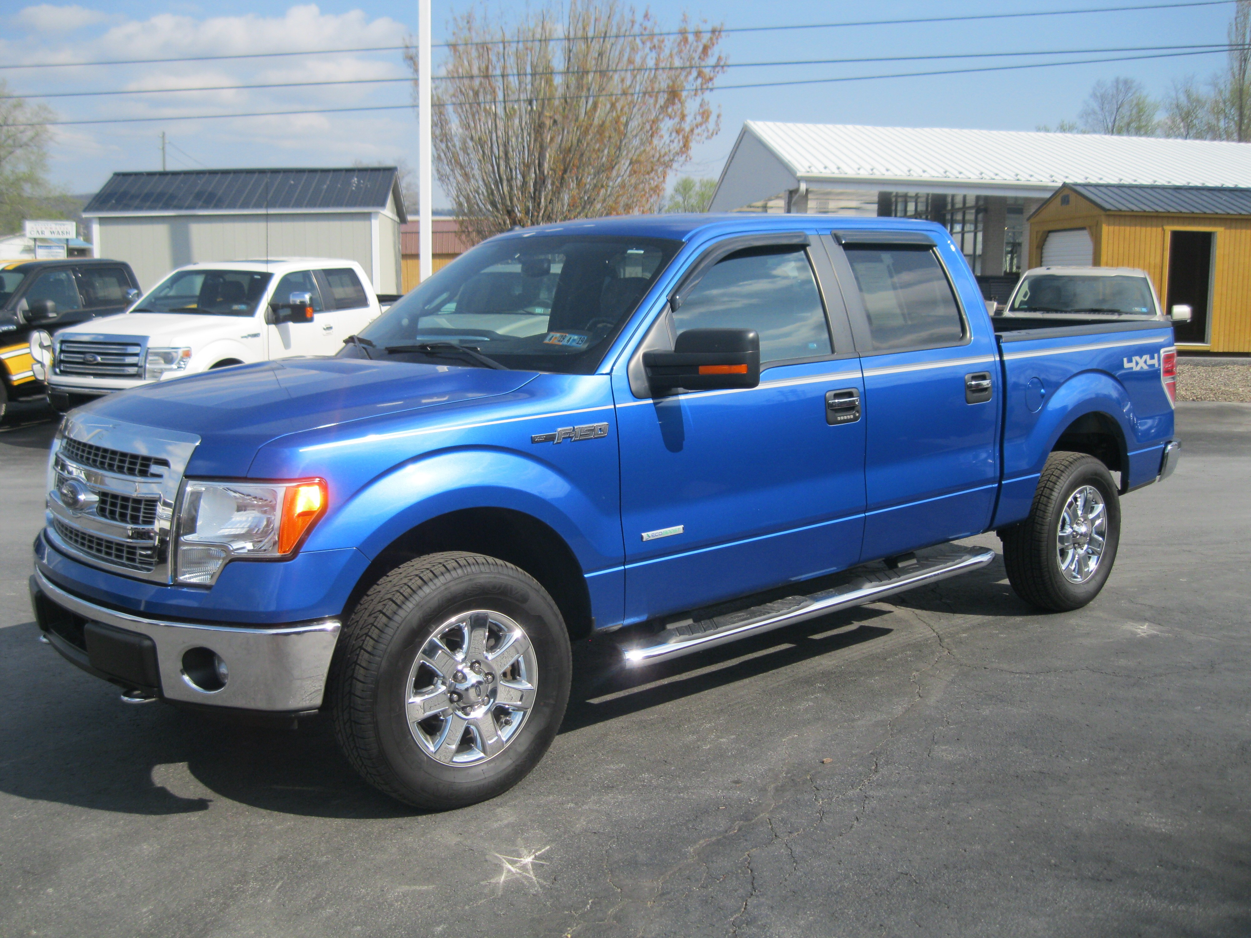 2014 Ford F150 CC XLT 4X4 6 Speed Automatic Truck