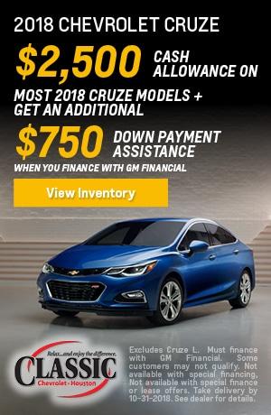 Classic Chevrolet Of Houston | New Chevrolet Dealership In Houston, TX 77074