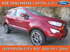 New 2018 Ford EcoSport Titanium Crossover for sale in Jefferson City, MO