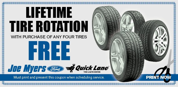 Rotate And Balance Tires Joe Myers Ford