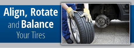 Houston Tire Rotation and Balance Information