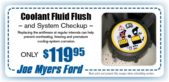 Coolant flush coupons / Shooting packages